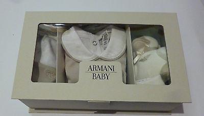 Abbigliamento Bambini - ARMANI Conf.regalo pagliaccetto + body m/m+capp.+dou dou 2