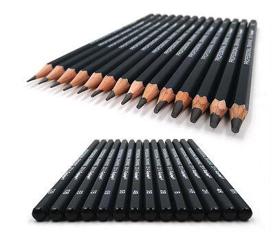Kasimir Bleistiftset Zeichenbleistifte Bleistifte, 14er Set, 6H bis 12B 5