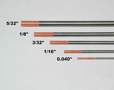 """WeldingCity 10-pk TIG Welding Tungsten Electrode 2/% Ceriated Gray 1//16/""""-3//32/""""x7/"""""""