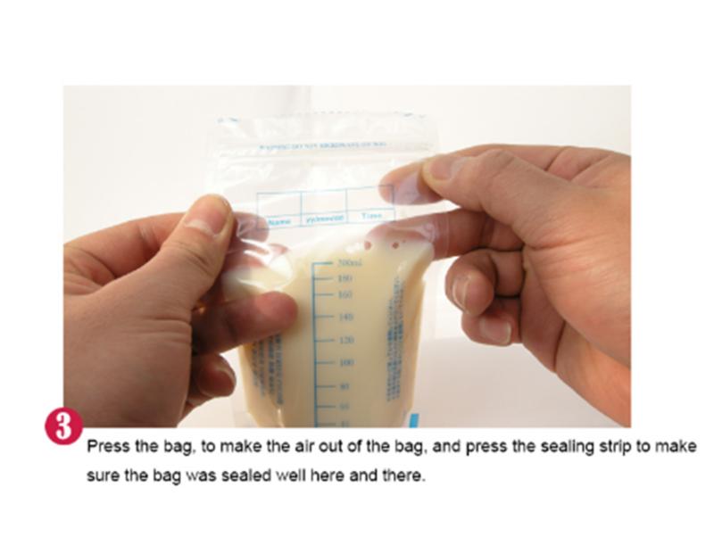 100Pcs 250ml Milk Freezing Bags Milk Baby Breast Milk Storage Bag Pouch BPA Free 12