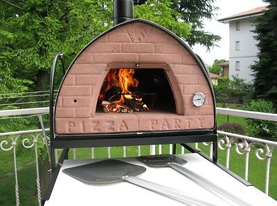 1 Of 12FREE Shipping Wood Fired Pizza Oven 70x70 Pizza Party ORIGINAL!  BRONZE + Door With Glass