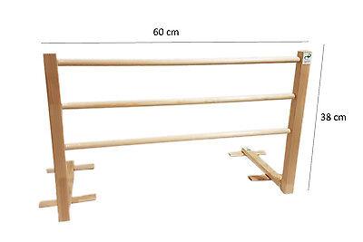Bettgitter, Bettschutzgitter ,Die hölzerne 60 cm. Bed rail.