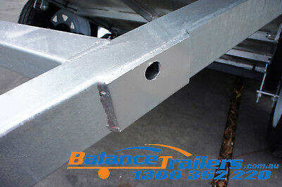 7x5 HOT DIP GALVANISED FULL WELDED TIPPER BOX TRAILER WITH 600MM REMOVABLE CAGE 12