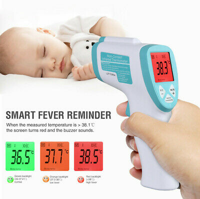 IR Infrared Digital Termometer Non-Contact Forehead Baby/Adult Body Thermometer 2