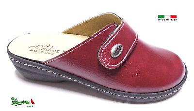 Pantofole ciabatte donna chiuse MADEinITALY PLANTARE ESTRAIBILE 310 italiane 2