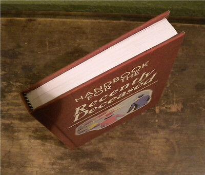 BLANK BOOK - SKETCH BOOK - Handbook for the Recently Deceased BEETLEJUICE Prop 4