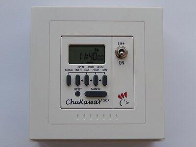 Chuxaway SCX Automatic Chicken Coop Pop Hole Opener with Timer & ALUMINIUM DOOR 6