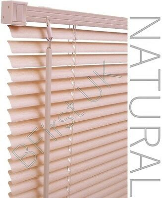 Read to Fit Venetian Window Blind PVC Trimmable Easy to Cut Slats WITH BRACKETS 5