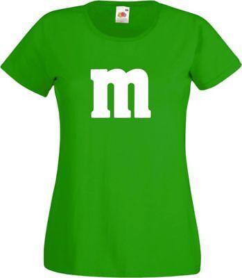 Für M&M Kostüm Fans MM T-Shirt Karneval Fasching Dart Gruppenkostüm Herren Damen 11