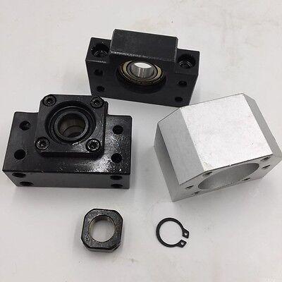 Rolled Ballscrew SFU1204/1605/2005/2505/3205&Ballnut&End Support CNC Machine Kit 6