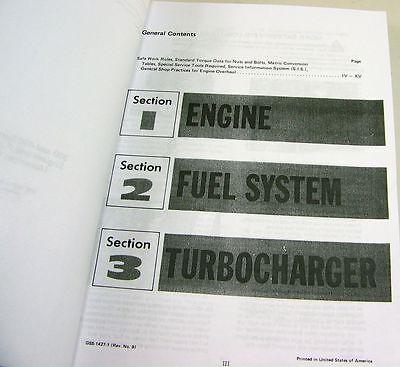 international d dt-466 diesel engine service repair shop manual turbo fuel  pump 2