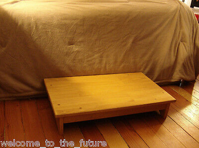 4 Of 11 Handcrafted Heavy Duty Wood Bedside Step Stool Bed 7 Tall 14 X