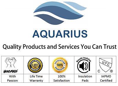 Aquarius Hand Made Undermount Apron Front Farmhouse Stainless Steel Kitchen Sink