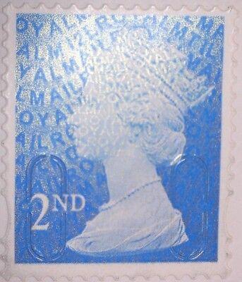 1 Gb Used Blue 2Nd Class Machin Security Nvi 2012 Sg U3013  M12L Mtil Stamp 2