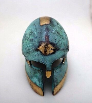 Ancient Greek Bronze Museum Replica Vintage Corinthian Soldier Battle Helmet 5