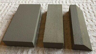 "Curve-Flex, 5 Piece -Professional Hand Sanding Block Kit 16.5"", 7.75"", 5.5"" blks 3"