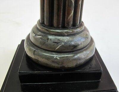 Rare ANCIENT ROMAN BRONZE Sculpture of Gladiator c. 300 AD  Antique Wood Stand 4