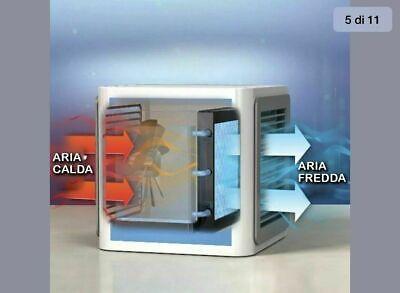 Mini Climatizzatore Condizionatore Ad Acqua Portatile Ventilatore Vento Usb New 3