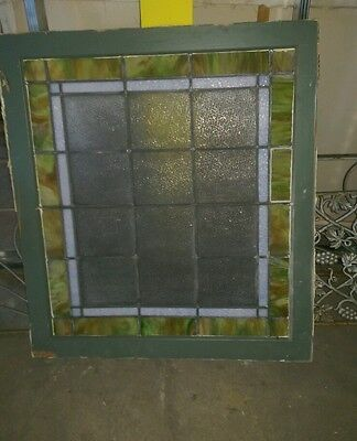Reclaimed Antique Stained glass window from Crawford's Bakery 3
