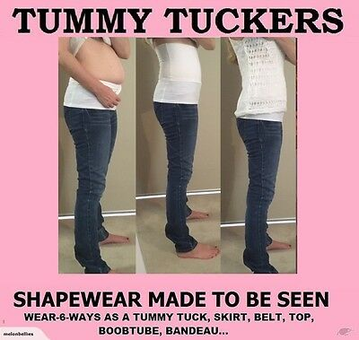 BELLYBIZ WOMENS SHAPEWEAR Cotton Slim Top Body Shaper Waist Trainer TUMMY TUCKER