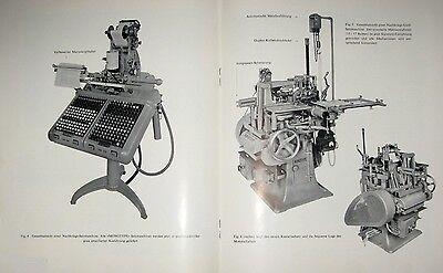 Monotype Corporation London The Recorder XXXIX 3 1952 Setzmaschinen Zeitschrift 2