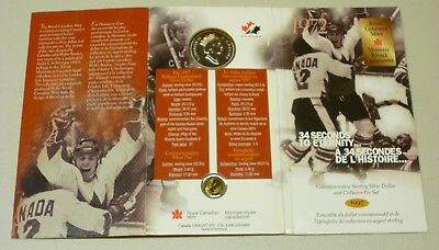 1997 Royal Canadian Mint Commemorative Sterling Silver Dollar/Pin Canada/USSR 3