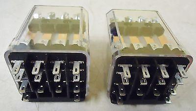 2 Tyco Electronics Kup-17D19-24 24Vdc Relays 3