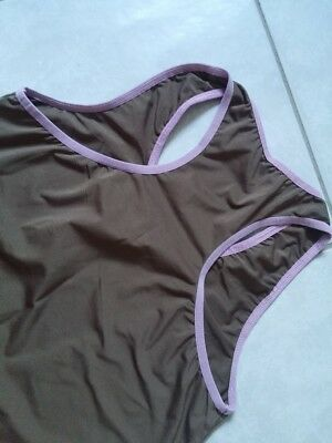 BODY - Underwear Top Shirt Hibiskus - neuw. - Gr. 164 2