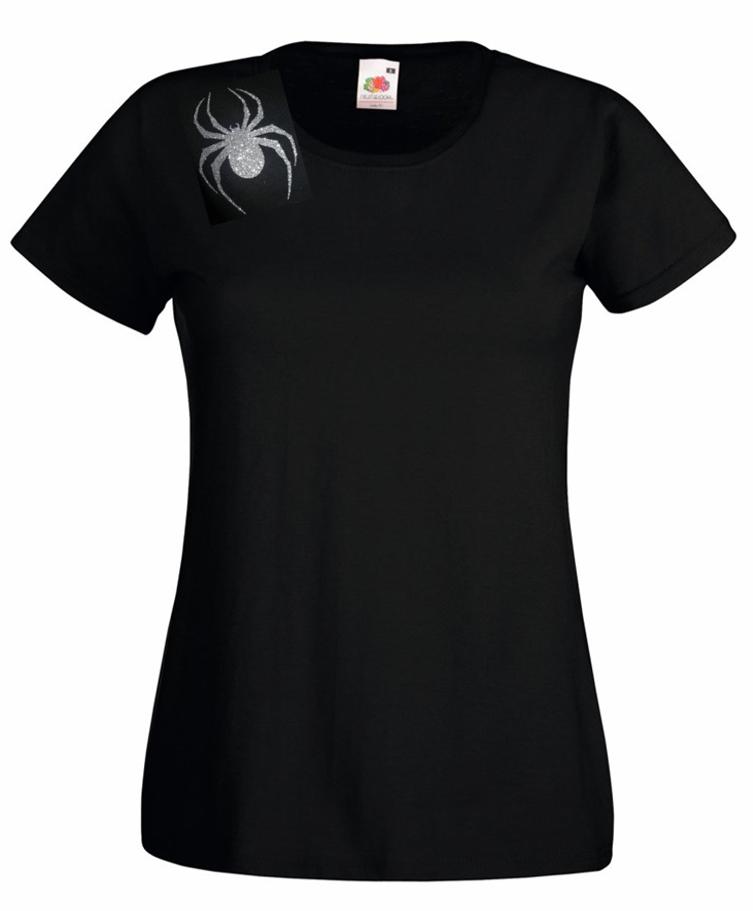Lady Hale GLITTER Spider Brooch T-shirt Politics Boris Johnson **FREE SOCKS !!** 5
