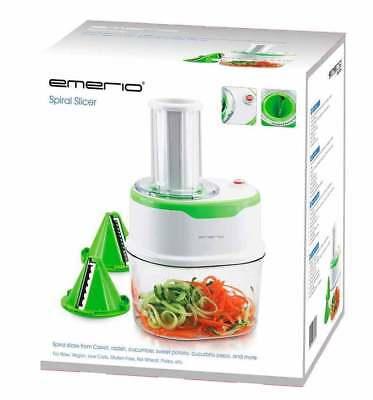 Elektro Spiral-Schneider 120 Watt 1,7L Gemüse-Hobel für Karotte Gurke Zucchini 4