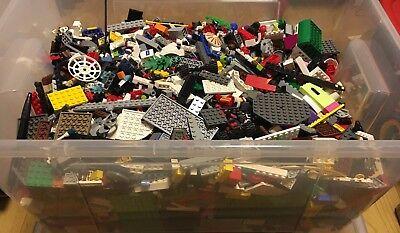Lotto Lego 1Kg Pezzi Misti Vari Lotti Puliti E Selezionati 3