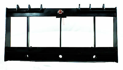 """Titan HD Frame, 43"""" Tractor Hay Spear & 2 Stabilizers Skid Steer 4000lb capacity 2"""