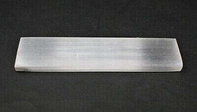 """Polished Selenite Charging Station: 6"""" Flat Crystal Plate (Cleansing) 2"""