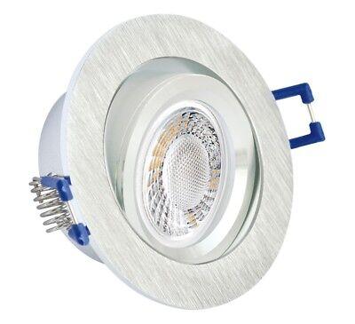 EXTRA flach LED Deckenfluter Einbaulampe Einbaustrahler Downlight Set dimmbar