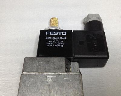 Festo Magnetventil MSFG-24//42-50//60