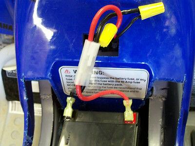 Marvelous 12V 18V 24V Quick Connect Wires 4 Motor Battery Peg Perego Wiring Cloud Battdienstapotheekhoekschewaardnl
