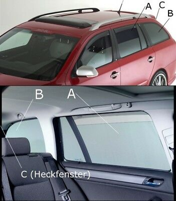 Sonnenschutz Sonniboy Seat Leon ST 5F Kombi ab 2013 Scheibennetze