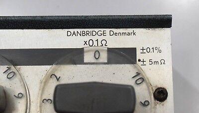 Danbridge DR5/ABCDE decade resistance box 0.1 to 100 Ω 9