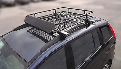 Aluminium 120cm Lockable Roof Rack Rail Bars /& Roof Tray for Dacia Duster 2018/>
