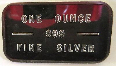 Bache Art Bar #308398 Pioneer Mint Kidd Pm-5 1981 .999 Fine Silver 1 Troy Oz 6