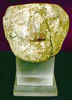 Pre-Columbian STONE PECTORAL GUERRERO EX: SOTHEBY'S '77 6