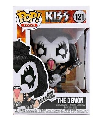 FUNKO POP KISS ROCKS THE DEMON 121 28505 VINYL FIGURE IN STOCK
