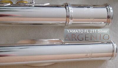 Querflöte silber  YAMATO Flute  Silver Flauta plata Flauto argento Flûte argent