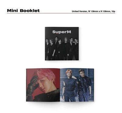 SuperM 1st Mini Album - [SuperM] UNITED Ver. CD+Booklet+Mini Booklet+Photocard 5