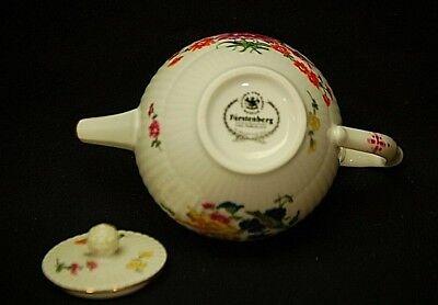 Furstenberg Miniature Tea Pot Victoria & Albert Museum Franklin Mint Porcelain 4