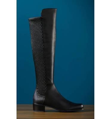 38a33cd84e7 1 of 11 NIB  785+ Stuart Weitzman Alljenn Over the Knee 5050 OTK Boot Black  Leather 8