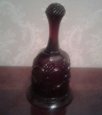Avon Cape Cod Ruby Red Vintage Bell