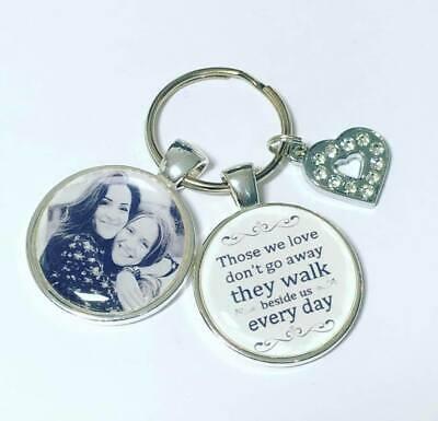 Personalised Memory photo keyring Bereavement gifts memorial keyring memory 5