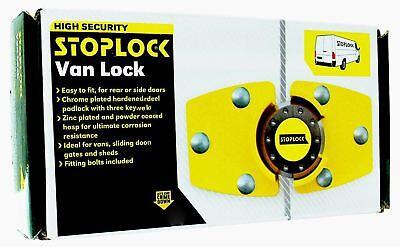 Stoplock for Renault Trafic High Security Anti-Theft Van Rear Door Lock + 3 Keys 9