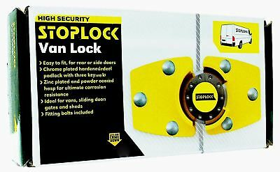 Stoplock for Peugeot Boxer High Security Anti-Theft Van Rear Door Lock + 3 Keys 10